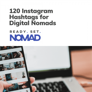 120 Instagram Hashtags for Digital Nomads